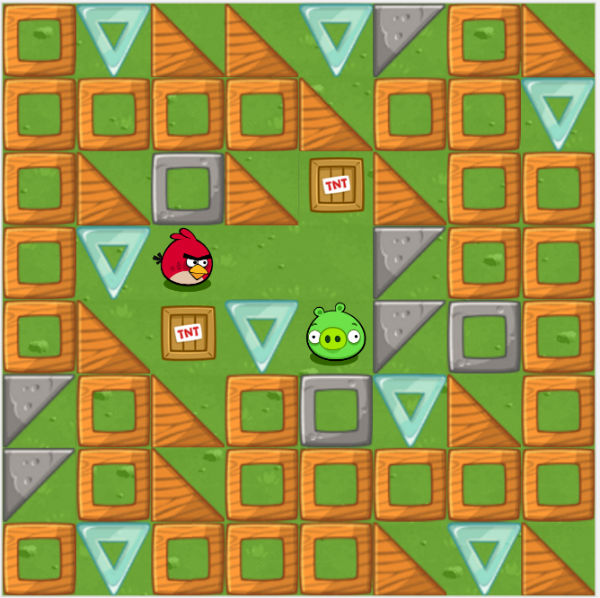 Angry Birds Coding Game