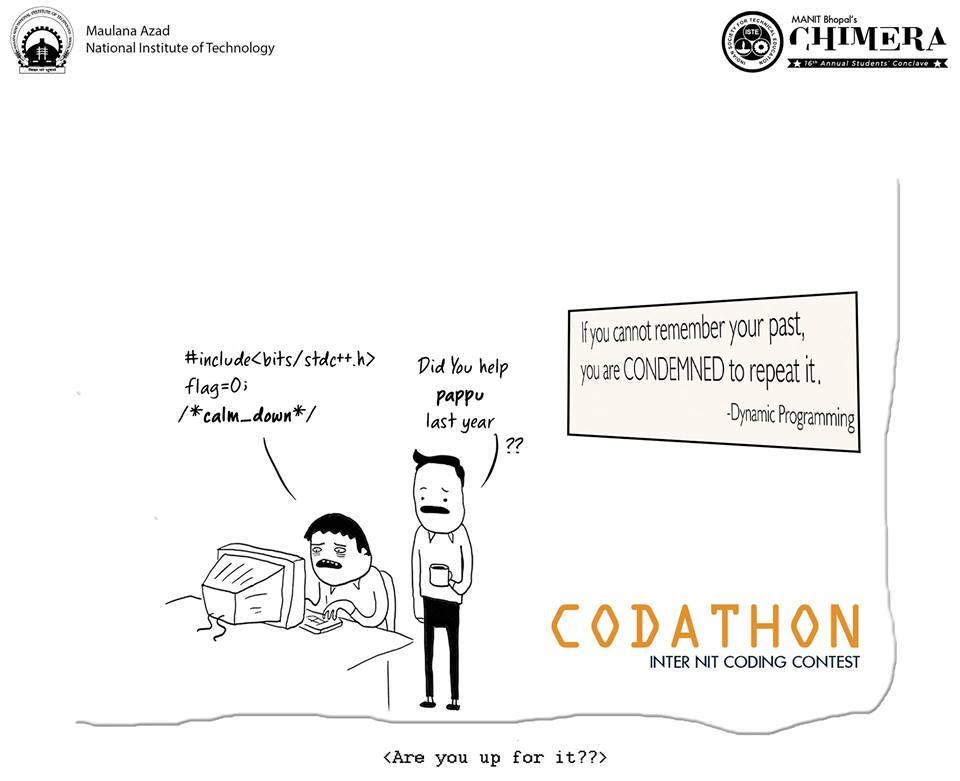 Codathon – Inter NIT Coding Contest 2018