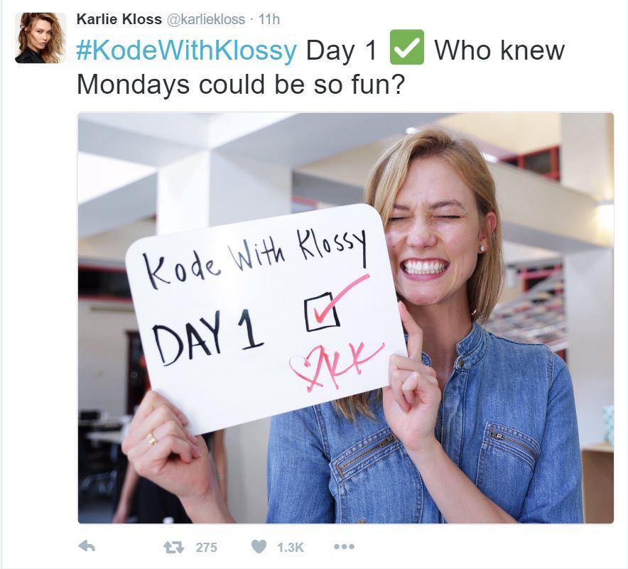 karlie kloss code