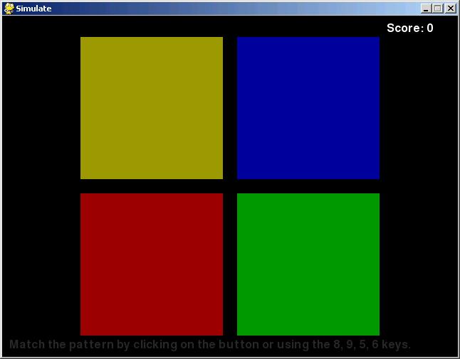simulate screenshot