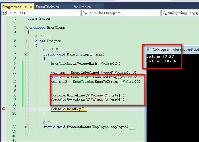 Use enum classes instead of enum in ASP.Net Core