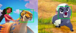 Face recognition is invalid for animation