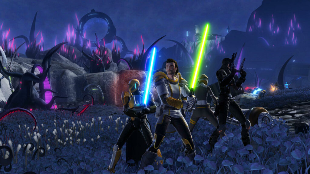 Star Wars The Old Republic takes on World of Warcraft with force