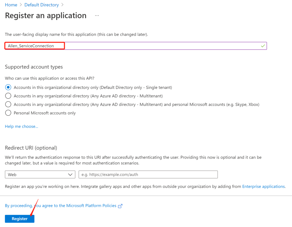 How to use Azure DevOps to connect to Azure services across accounts