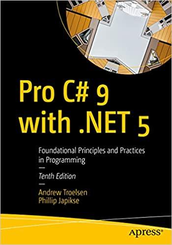 Pro C 9 with .NET 5