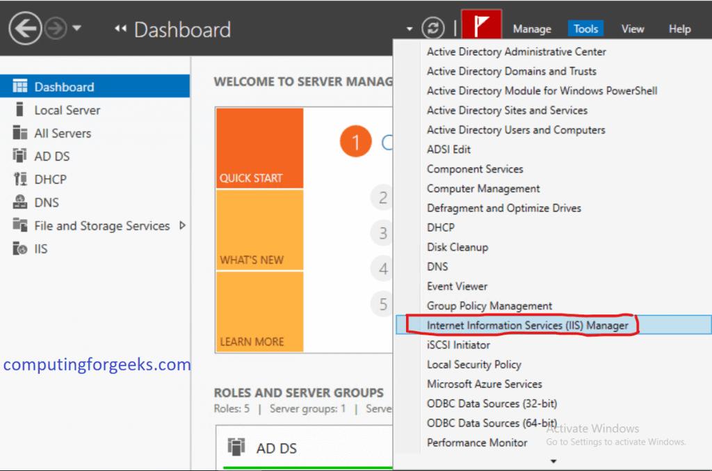 How To Add Virtual Directory on Windows IIS Server 2019